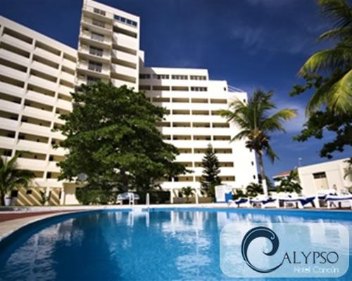 Calypso Hotel Economic Rooms In Cancun Located At Te