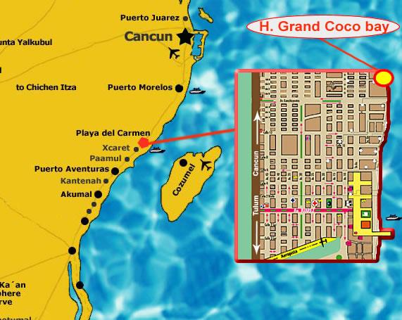 Hotel Grand Coco Bay Playa Del Carmen Hotel All Inclusive