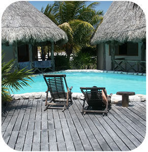 Xaloc Resort is a small ecotourism hotel,