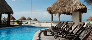 hotel in the beach of holbox